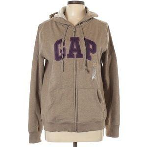 GAP Logo Full Zip Hoodie